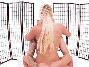 taut nubile Vanessa cell gets boned by Justice young