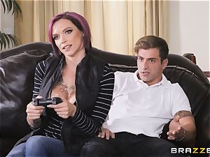 Anna Bell Peaks loves toying games
