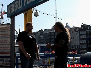 Amsterdam cockslut dicksucking tourist
