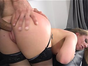 Maddy OReilly jammed total in her undergarments